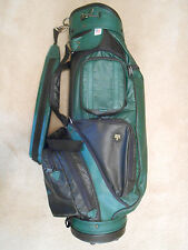 HOT-Z CLASSIC STYLE GOLF BAG - LEATHER ? - VERY GOOD CONDITION!