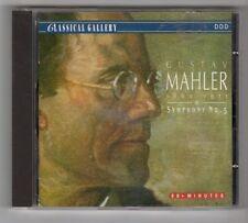 (GY131) Anton Nanut, Gustav Mahler: Symphony Orchestra - 1992 CD