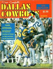 Dave Campbell's Dallas Cowboys 1976 Outlook Too Tall Jones on Cover