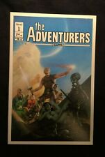 "Aircel #1 Premiere Issue of ""The Adventurers"" Variant  9.0 VF/NM"