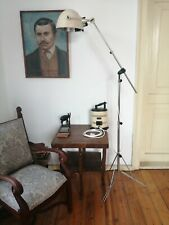 Vintage ORIGINAL HANAU Industrial Lamp Adjustable Articulated Telescopic Floor