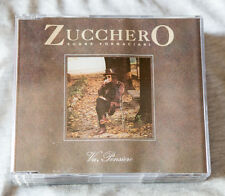 ZUCCHERO SUGAR FORNACIARI VA PENSIERO CD SINGOLO Promo 1 brano Blues