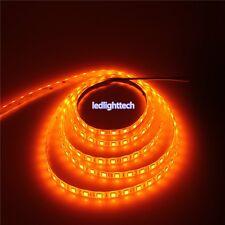 5050 Orange LED Strip 5M 300 LEDs SMD ribbon Light Lamp Waterproof 12V WH XMAS
