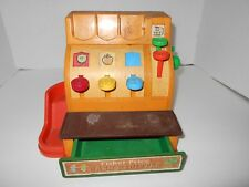 Vintage COLLECTIBLE Fisher Price Cash Register 926