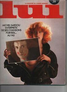 REVUE LUI N° 178 de Novembre 1978 avec Dessin Lassalvy et poster central