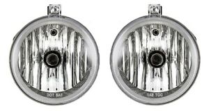 NEW Left & Right Genuine Fog Lights Lamps Pair Set For Chrysler Pacifica Sebring