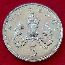 More details for proof 5p five pence coins 1972-1999 elizabeth ii choose your year coin hunt