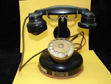 Joli ancien téléphone en bakélite, Art Déco, 1928