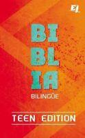 NVI/NIV Biblia / Holy Bible : Bilingüe Teen Edition, Hardcover by Editorial V...