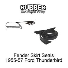 1955 1956 1957 Ford Thunderbird Fender Skirt Seals PAir R & L