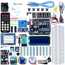 Elegoo EL-KIT-003 UNO Project Super Starter Kit with Tutorial for Arduino, New