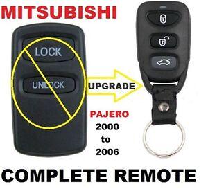 Mitsubishi PAJERO Remote KEYLESS ENTRY FOB 2000 2001 2002 2003 2004 2005 2006