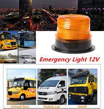 24 LED Auto Car Warning Light Amber Flashing Strobe Beacon Emergency Light 12V