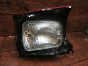 100W Halogen 1990 Ford PROBE Post mount spotlight Passenger side WITH install kit -Black Larson Electronics 1015P9JJILS 6 inch