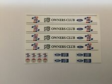 1/18 scale Modified Tuning RS OWNERSCLUB decal sunstrips