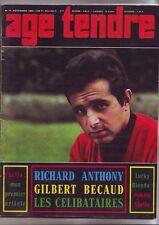 age tendre Numero 11 - novembre 1963