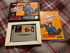 Exhaust Heat - Super Nintendo Entertainment System SNES - PAL VERSION - Boxed