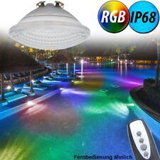 RGB LED 8 W Pool Bulb 800 lm PAR56 Glass Spotlight REMOTE CONTROL EEK A ++
