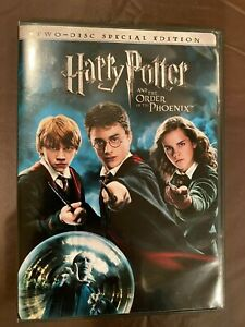Harry Potter and the Order of the Phoenix (DVD, 2007, 2-Disc, Special Edition)
