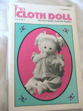 THE CLOTH DOLL 1985 Vol 3 No 4 cloth art doll patterns~techniqs~how to magazine