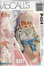 BABY BUNTING Patterns with HATwith OPTIONAL Ear Flaps POLAR GEAR