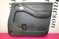 NISSAN NAVARA D40 2.5 DCI 2004-2010 OSF FRONT DRIVER SIDE DOOR CARD 80900-3X30A