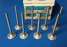 NOS 63 PONTIAC CATALINA BONNEVILLE LEMANS EXHAUST VALVES GM 544511 389 10.25 C/R