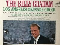 The Billy Graham Los Angeles Crusade Choir 1963 NM vinyl LP+bonus CD TESTED