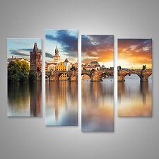 Bild Bilder auf Leinwand Prag - Karlsbrücke, Tschechische Republik CDZ-4erP