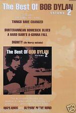 Bob Dylan 2000 The Best Of Bob Dylan Volume 2 Original Promo Poster