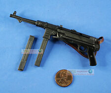 1:6 Scale Action Figure WW2 GERMAN ARMY MACHINE GUN MODEL SMG MP40 Ftoys_#4