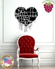 Wall Stickers Vinyl Decal Heart Love Modern Style z1065