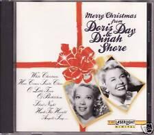 """DORIS DAY & DINAH SHORE """"MERRY CHRISTMAS"""" CD 1992 mono"""