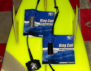 Creatures of Leisure Bodyboard Leash - Team Designed King Coil Wrist Comp Leash