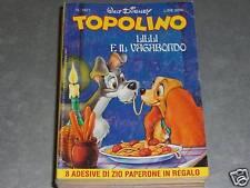 TOPOLINO LIBRETTO N.1821 COMPLETO DI FIGURINE
