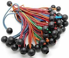 """(50) 9"""" COLOR Ball BUNGEE Cord Tarp Bungee Tie Down Strap Bungi Canopy Straps"""