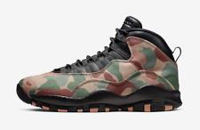 Air Jordan 10 X Retro Duck Camo Men's Sneakers