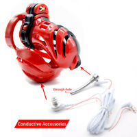 Electric Device New 3D Design Male Polyethylene Chastity Integrative A390