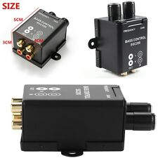Universal Remote Volume Control Knob For Car Audio Amplifier Bass RCA Gain Level