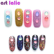 3D Sweet Candy Color Nail Art Beads Decoration Shiny Foil Gems Pearl Jewlery Tip