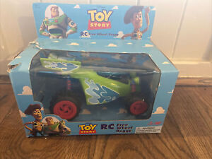 Vintage Toy Story RC Free Wheel Buggy Original 1995 Thinkway Boxed.