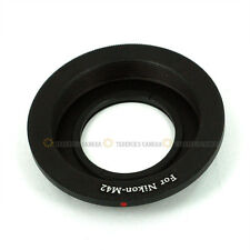 M42 Lens to Nikon SLR Mount Adapter Ring Infinity focus
