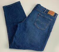 Levi's 514 Men's Medium Wash Blue Slim Straight Leg Jeans Sz 46 x 32