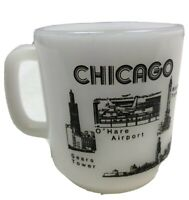 chicago skyline white glasbake mug 37