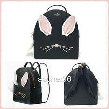 KATE SPADE HOP TO IT RABBIT SAMMI BACKPACK BLACK WKRU4758 NWT $329
