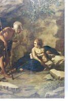 Gemälde Italien Römer mit Kinder Napoli
