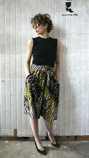 kurzer Hosenrock bunt gemustert 90er True VINTAGE 90s culottes colorful patterns