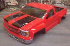 Custom Painted Body Silverado Pro-Touring For 1/10 RC Short Course Truck Slash