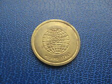 MILANO Italia $Simbolo del dollaro Token color oro