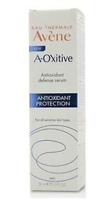 Avene A-OXitive Antioxidant Water-Cream - For All Sensitive Skin 30ml. New Sale.